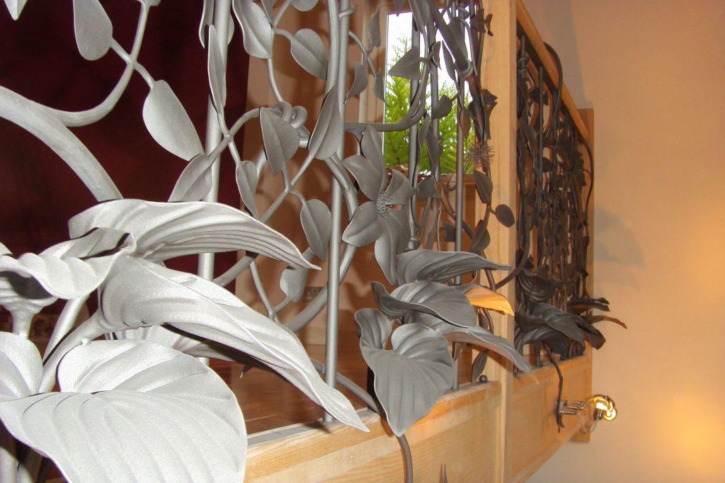 Clematis handrail detail