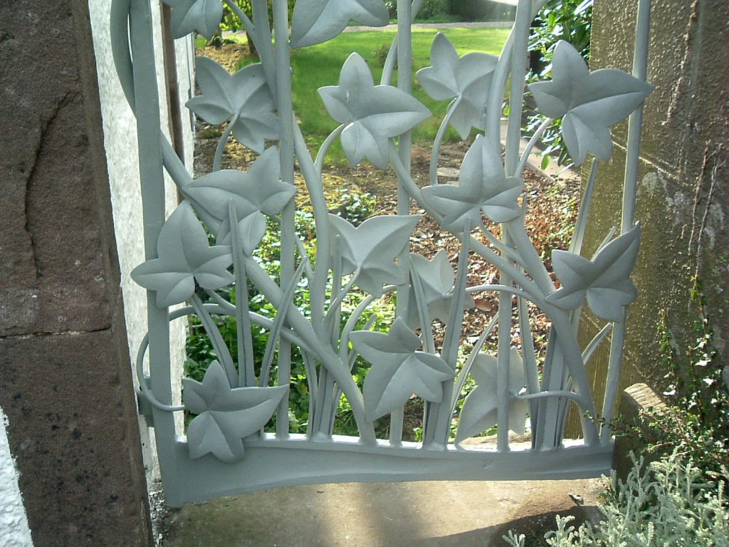 Ivy gate detail