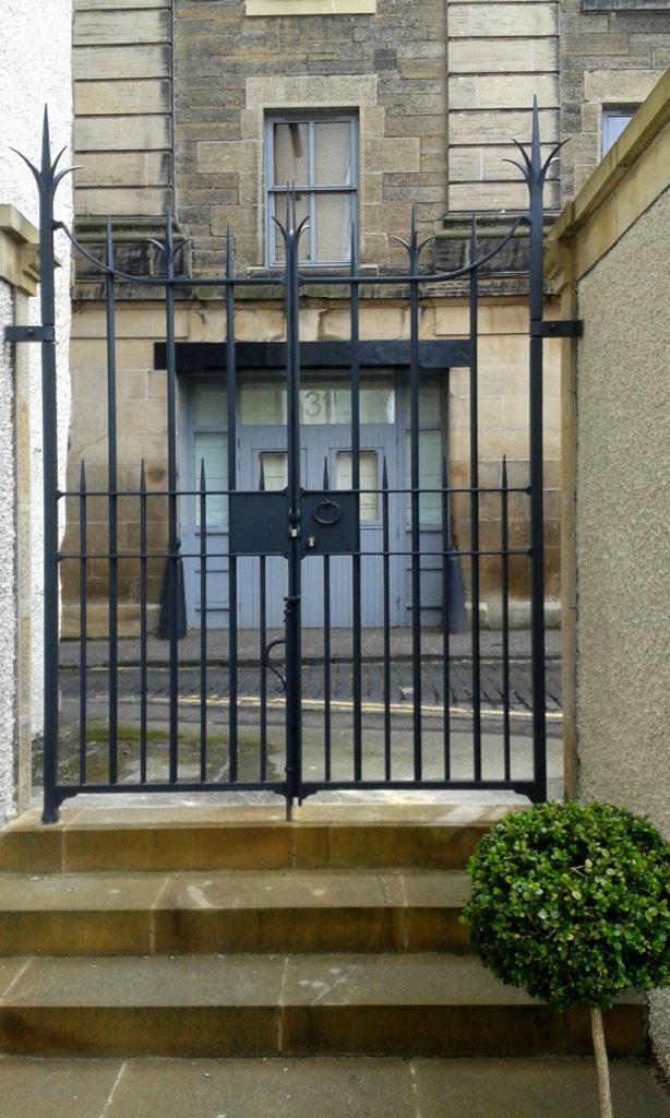 Lambs House, East gate