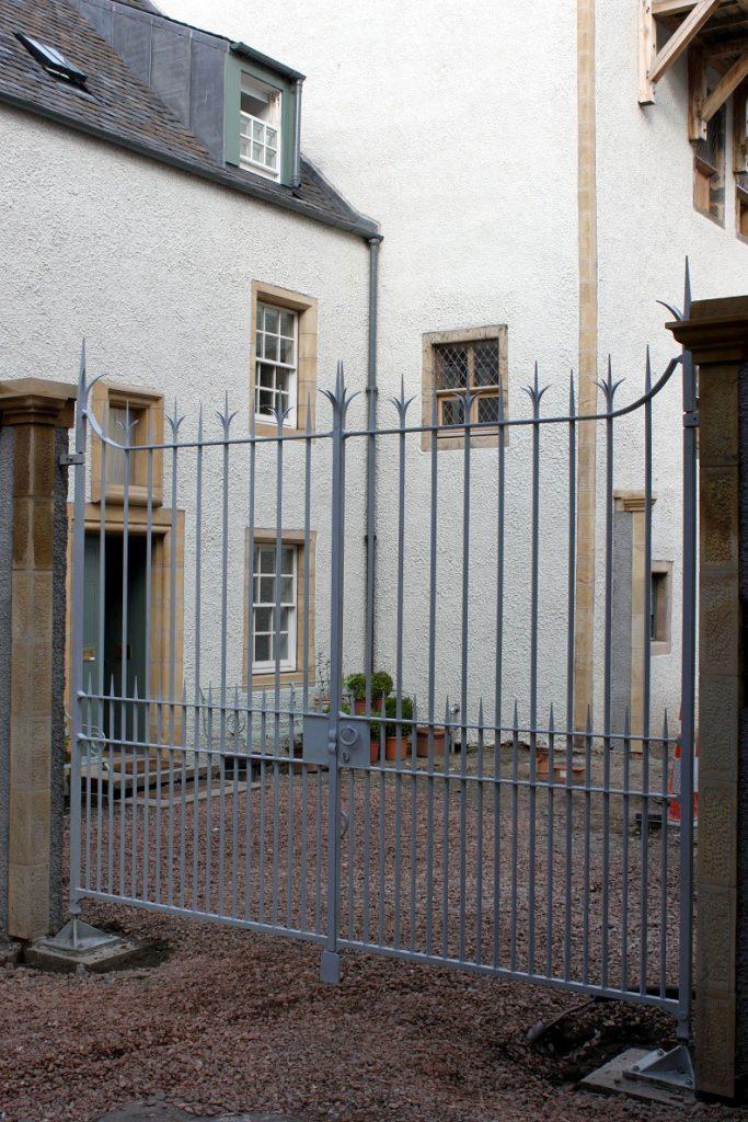 Lambs House, main gates