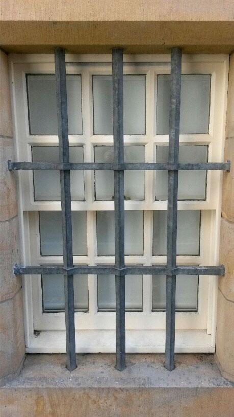 Lambs House, security bars