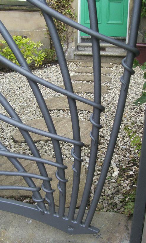 More gate detail