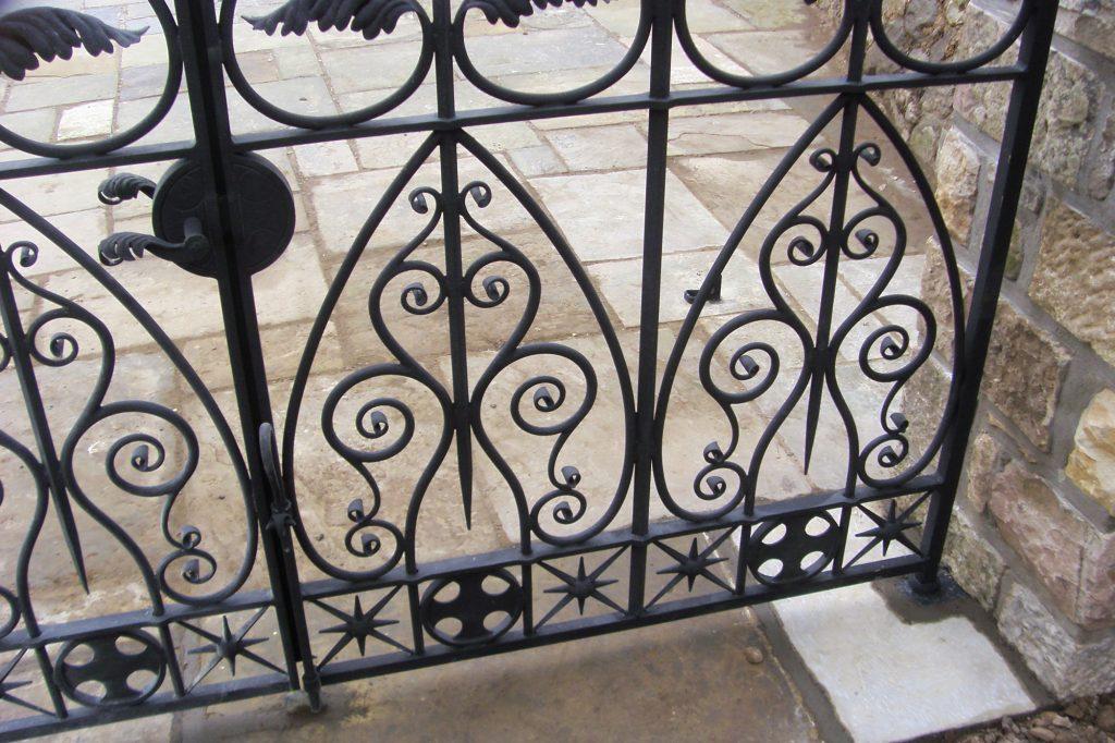 Orangerie gate detail