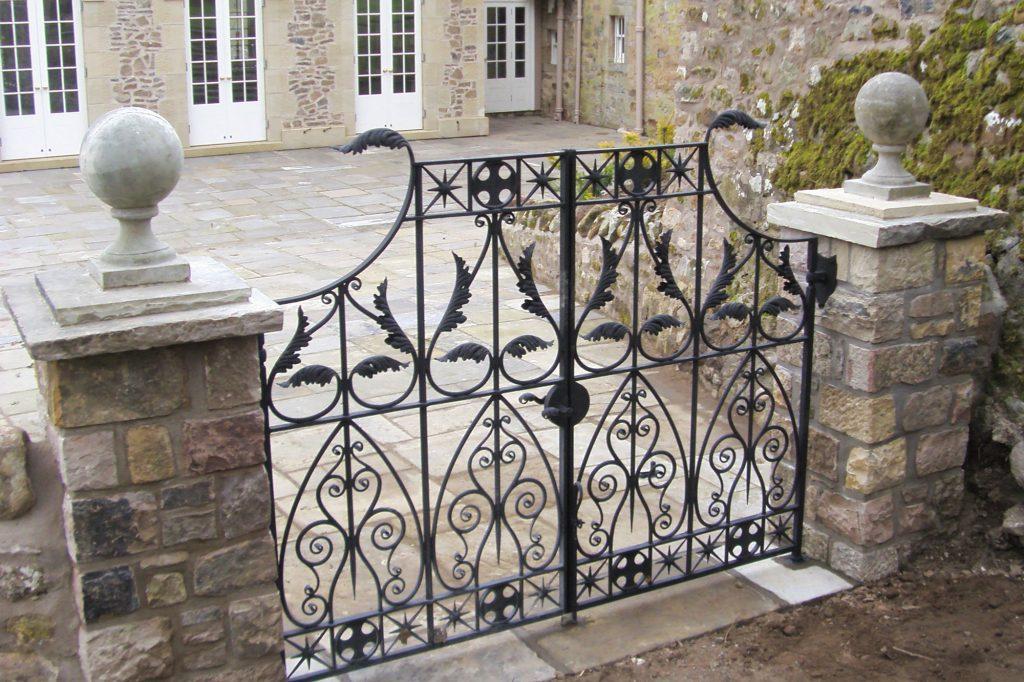 Orangerie gates