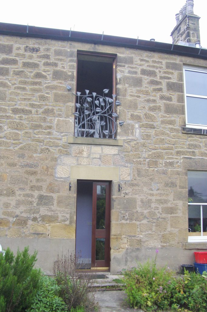 Phil and Jane's window railing