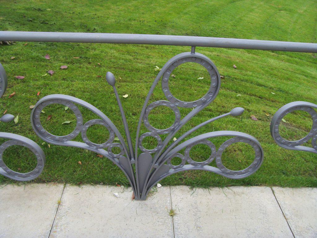 Riverford railings detail