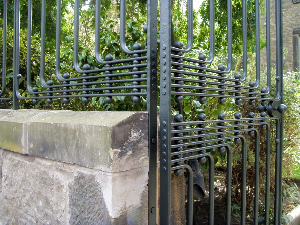 Trinity gate detail