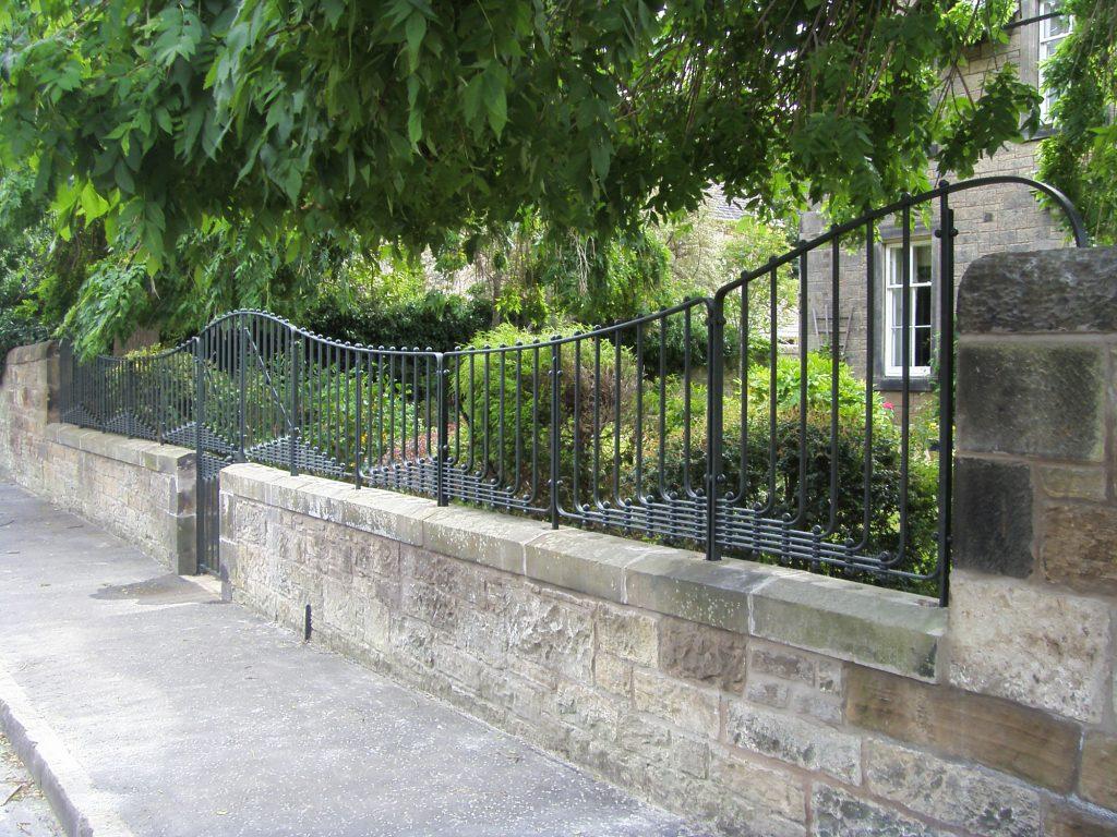 Trinity railings