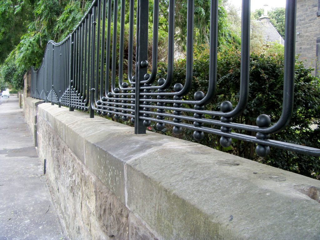 Trinity railings detail