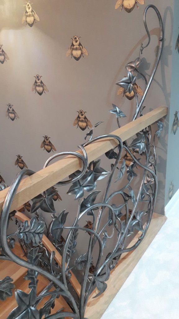 Woodland stair detail